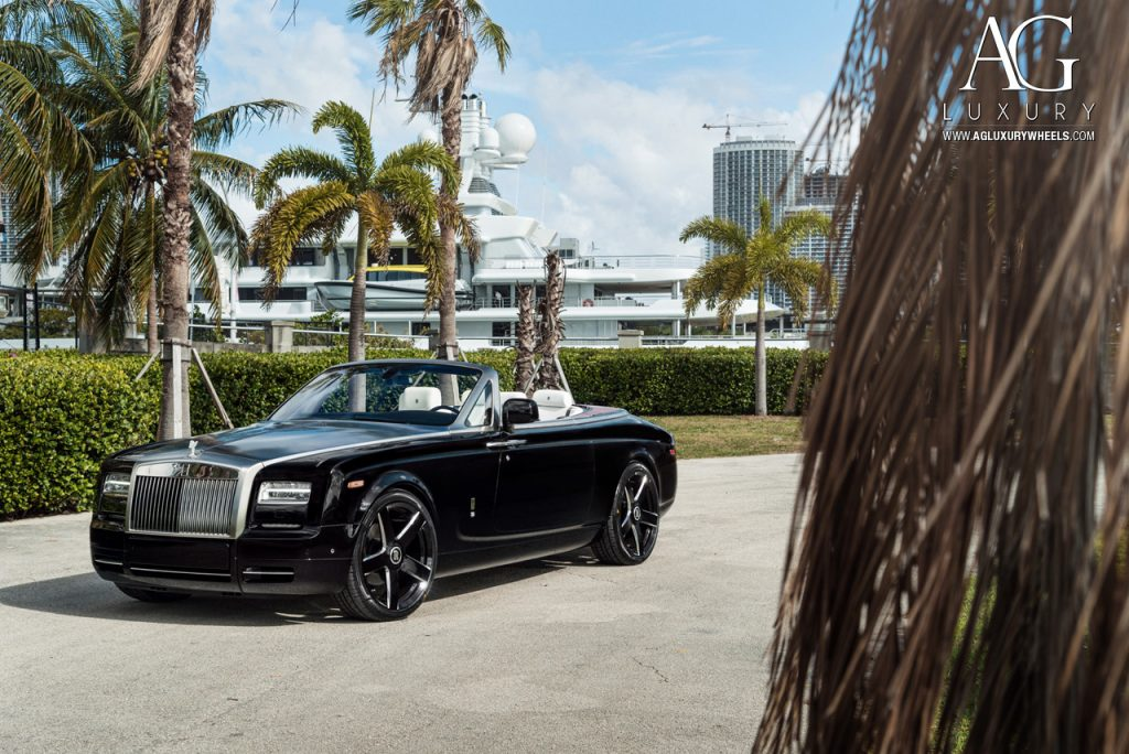 rolls royce phantom drophead coupe agl38 agl38rr custom forged 24 24x10 wheels wheel rim rims