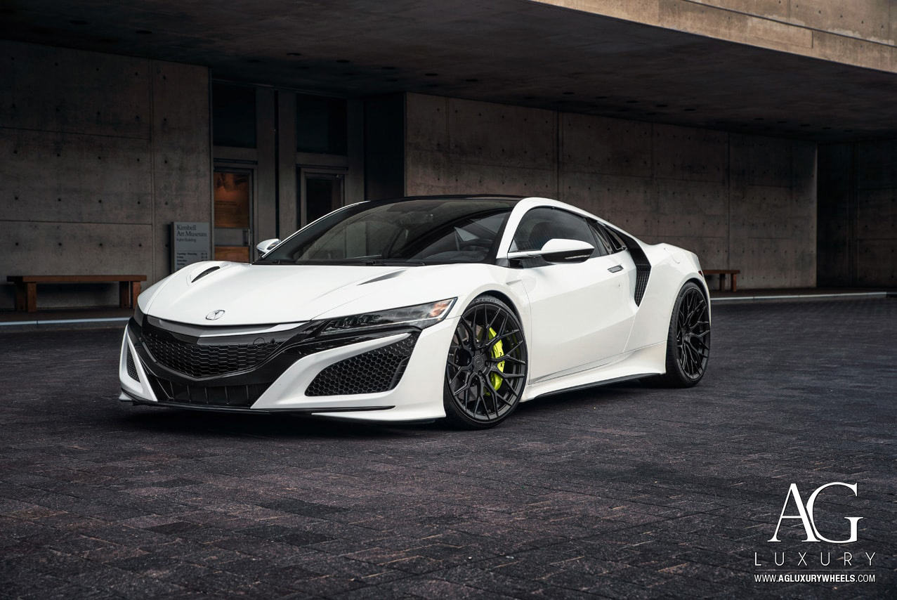 Acura NSX on AGLuxury AGL43 Forged Monoblock Wheels