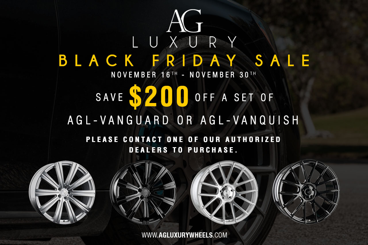 AGLuxury Black Friday 2018 Sale Begins Today!