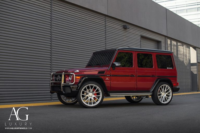 Mercedes-Benz G63 AMG on AGLuxury AGL-Vanquish Flow Form Wheels