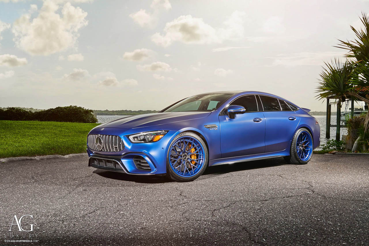 Mercedes-AMG GT 63 S on AGLuxury AGL43 Forged 3-Piece Wheels