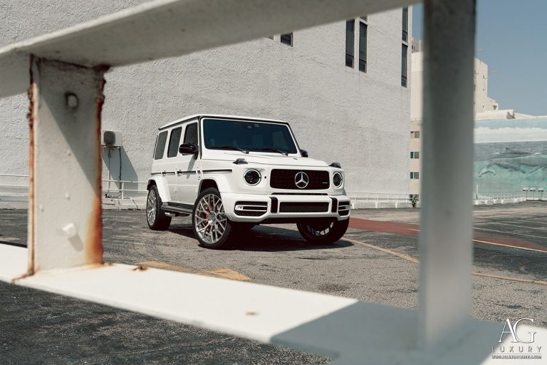 Mercedes-AMG G63 SUV on AGLuxury AGL57 Forged Monoblock Wheels