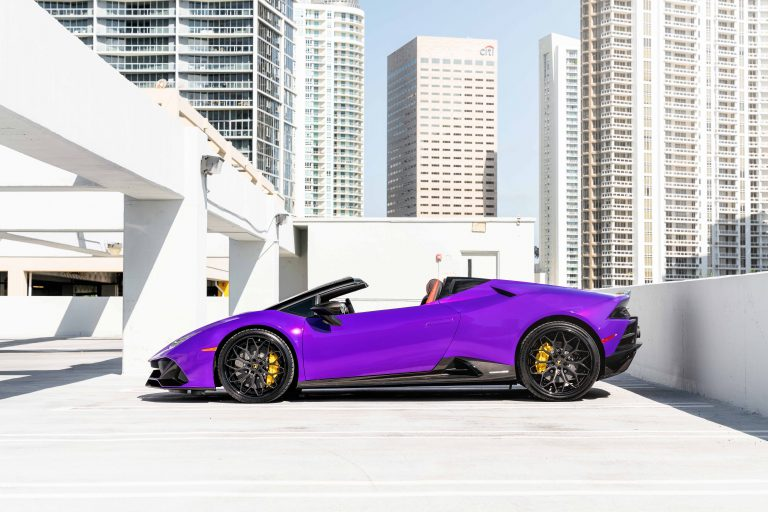 2020 Lamborghini Huracan EVO on AG Luxury Wheels AGL61