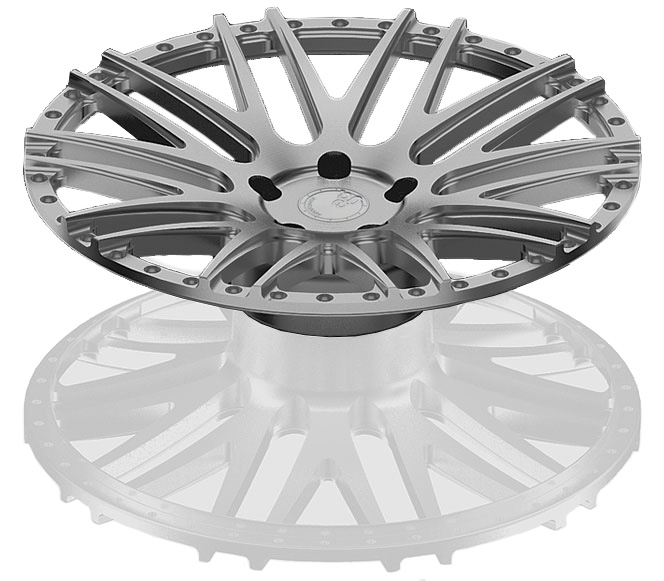 cnc machine forged wheels