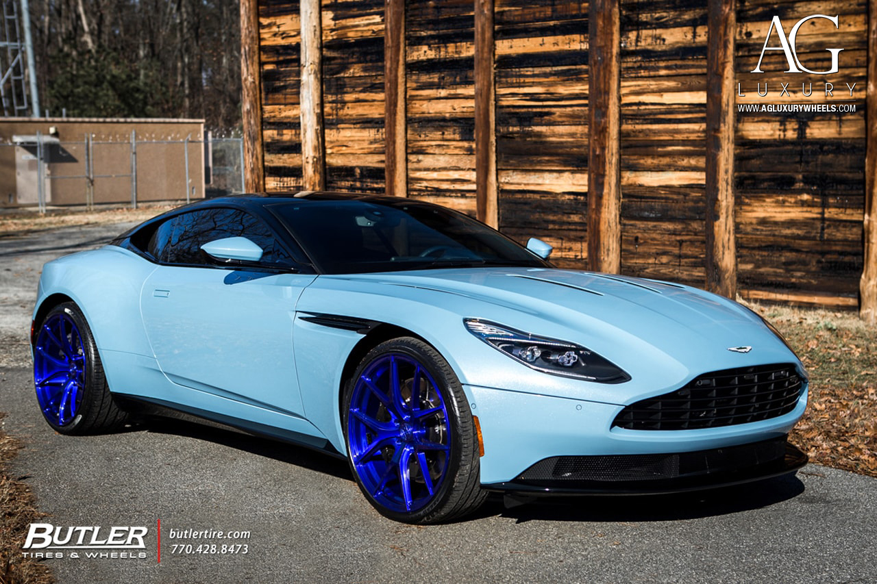 Ag Luxury Wheels Aston Martin Db11 Monoblock Forged Wheels