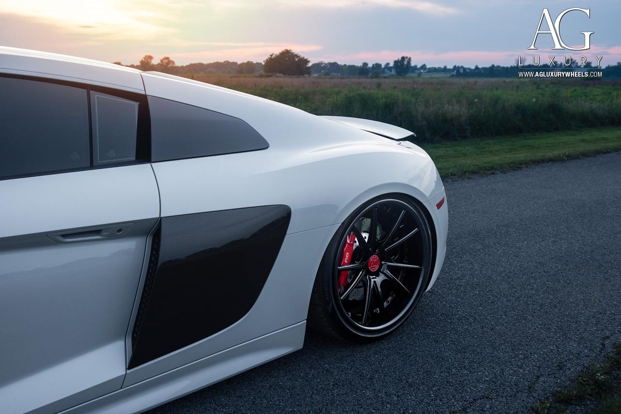 Ag Luxury Wheels Audi R8 Forged Wheels