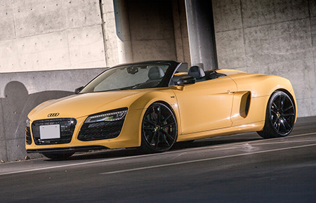 audi r8 forged concave monoblock wheels