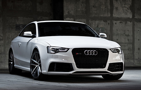 audi rs5 monoblock forged concave wheels