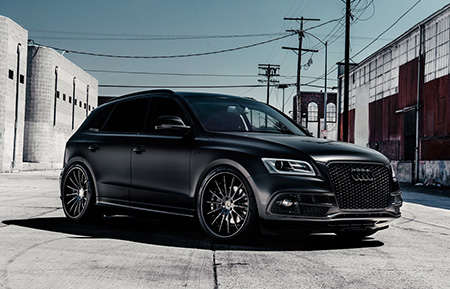 audi sq5 forged concave wheels
