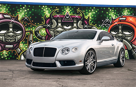 bentley continental gt forged concave wheels staggered