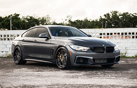 bmw 435i gran coupe forged concave staggered wheels f32 f30