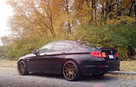 bmw f10 535i forged concave staggered wheels 5series