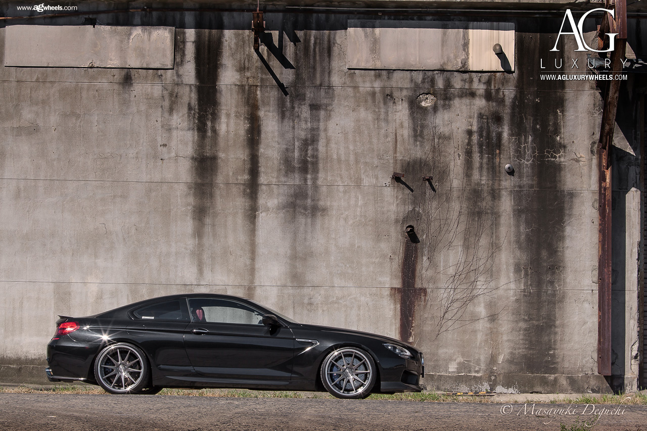 black bmw m6 forged concave staggered wheels brushed gunmetal