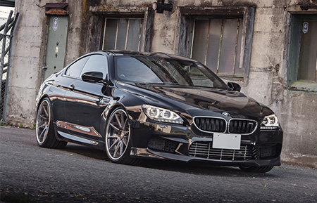 bmw m6 staggered concave forged wheels