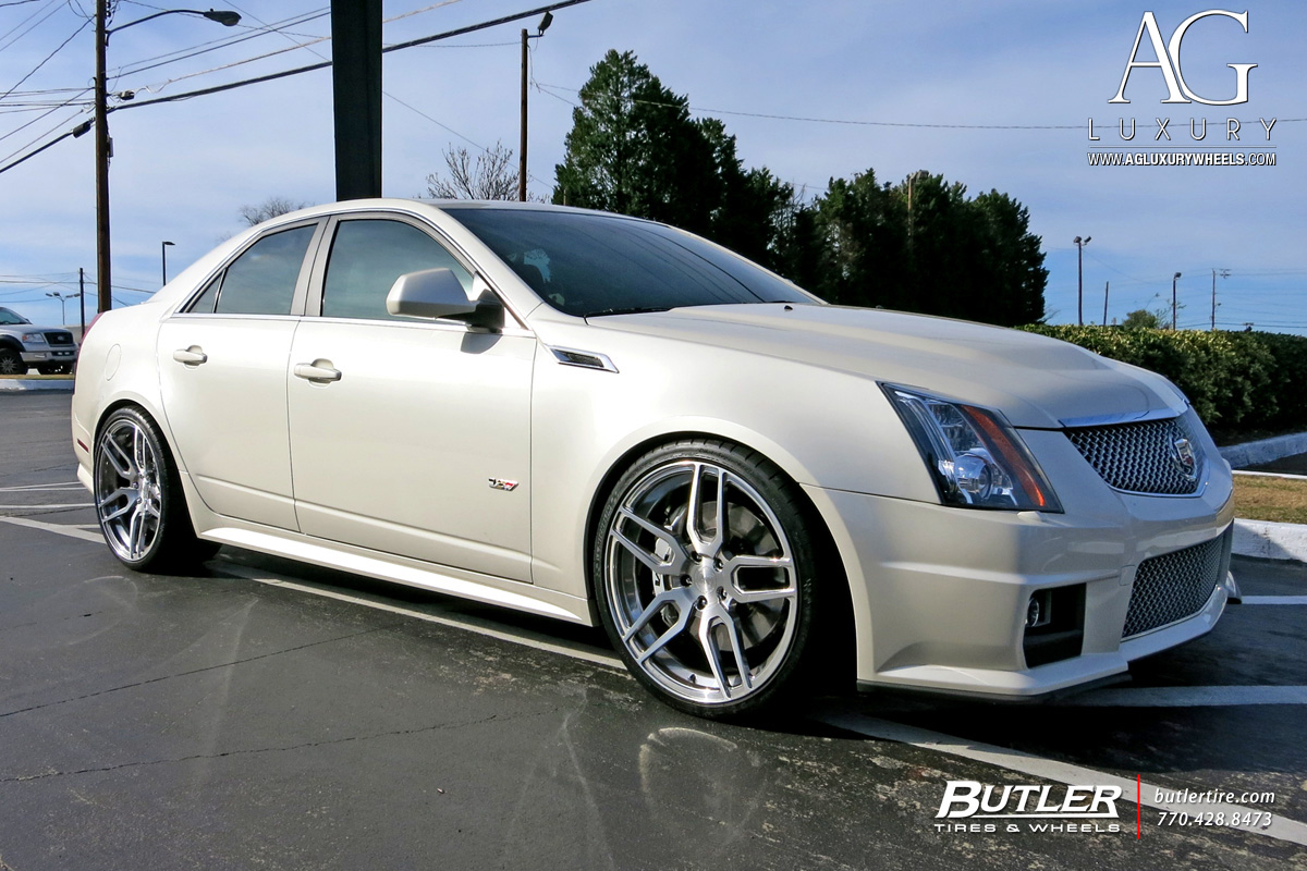 Ag Luxury Wheels Cadillac Cts V Forged Wheels