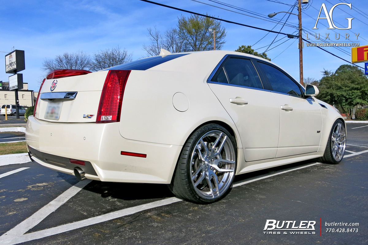 AG Luxury Wheels - Cadillac CTS-V Forged Wheels