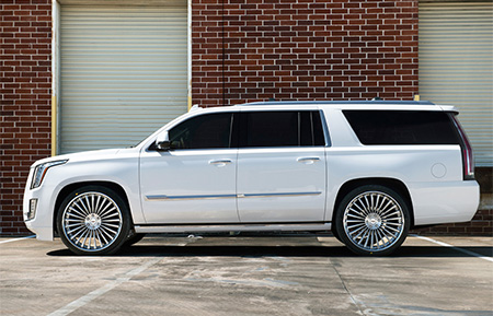 cadillac escalade forged wheels