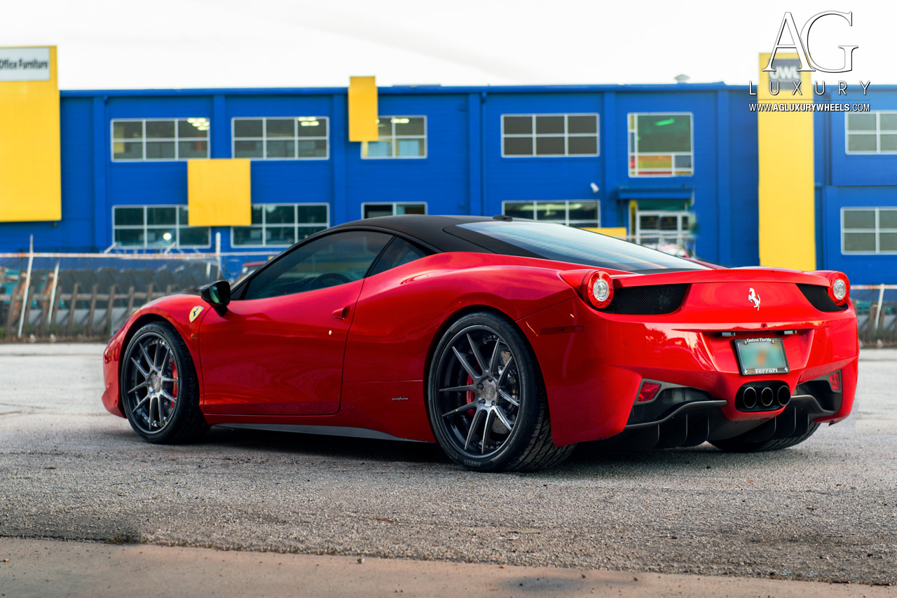 Ag Luxury Wheels Ferrari 458 Italia Forged Wheels