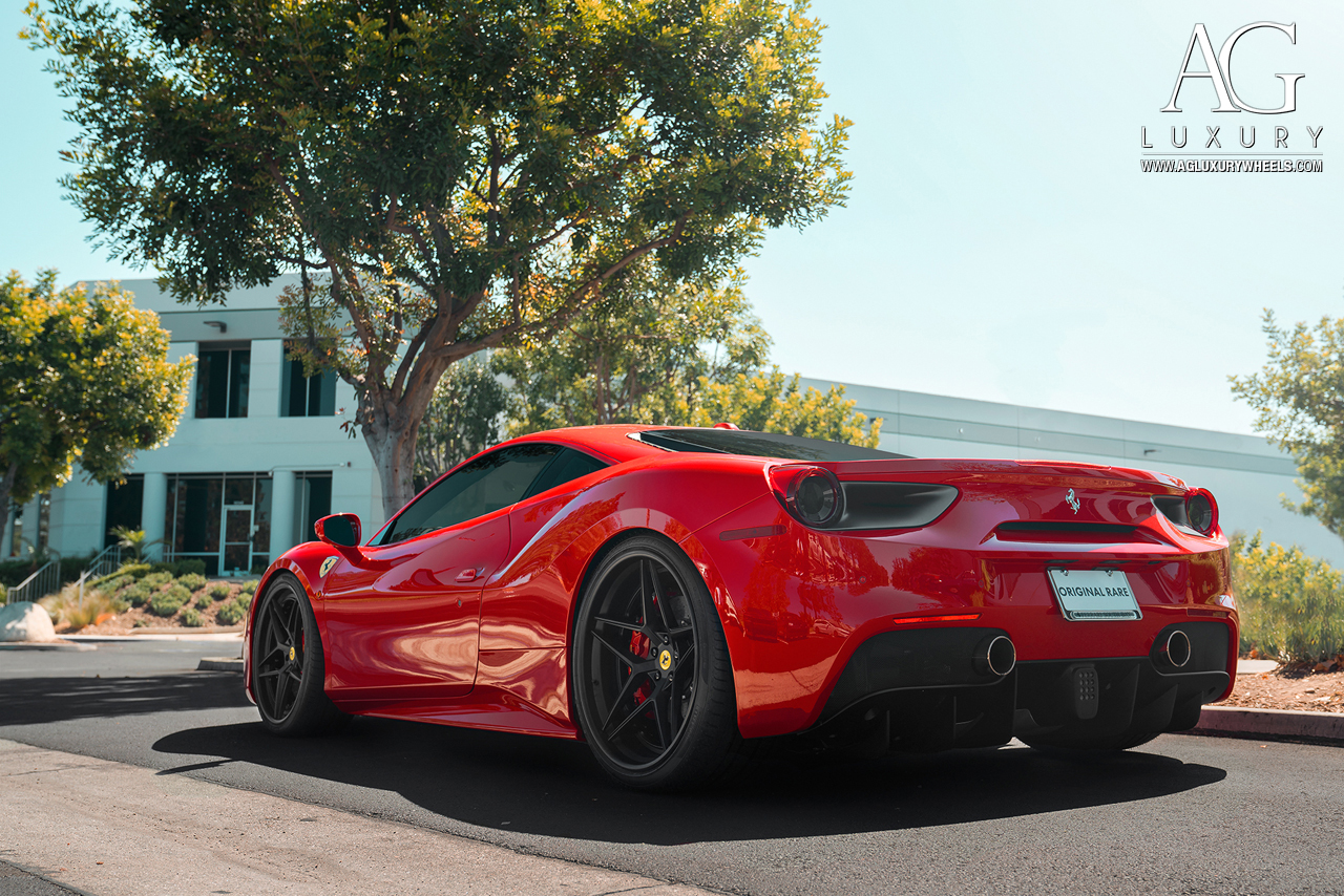 Ag Luxury Wheels Ferrari 488 Gtb Forged Wheels