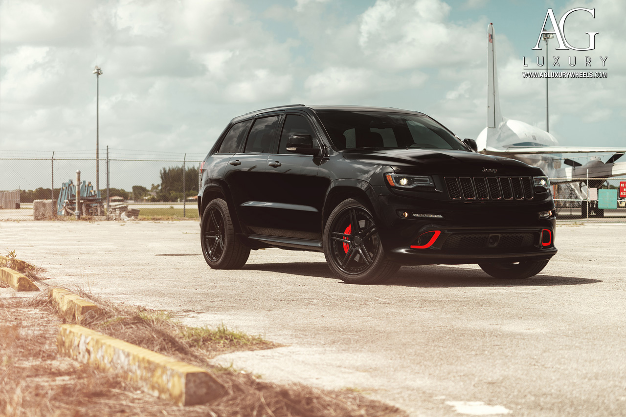 Jeep Srt 8 2017 >> AG Luxury Wheels - Jeep Grand Cherokee SRT Forged Wheels