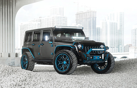 jeep wrangler forged concave wheels