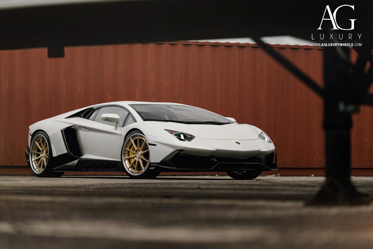 AG Luxury Wheels Lamborghini Aventador Forged Wheels