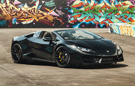 lamborghini huracan spyder forged concave staggered wheels monoblock