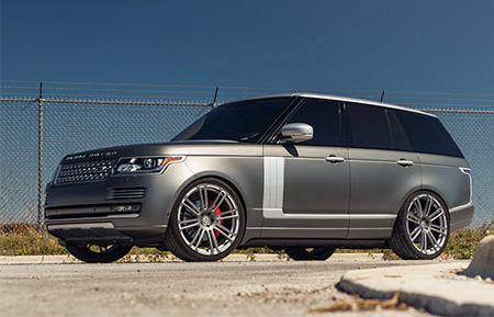 land rover range rover forged wheels concave