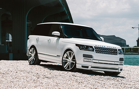 land rover range rover forged concave wheels