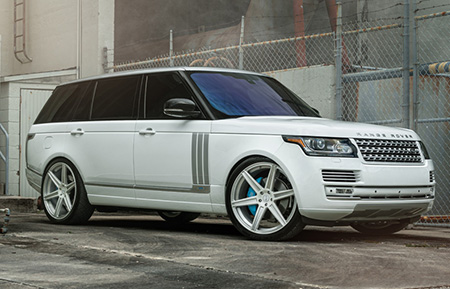 land rover range rover concave forged wheels