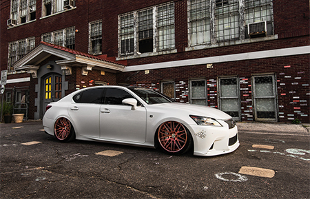 lexus gs350 air suspension forged concave wheels gs fsport