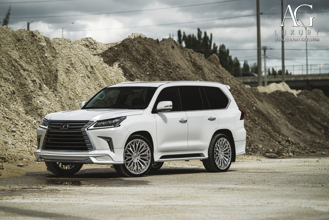 Lx >> AG Luxury Wheels - Lexus LX570 Forged Wheels