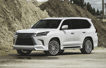 lexus lx570 forged wheels concave