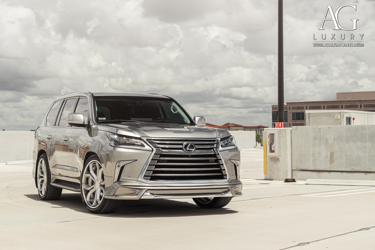 Ag Luxury Wheels Lexus Lx570 Forged Wheels