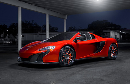mclaren 650s forged concave staggered wheels