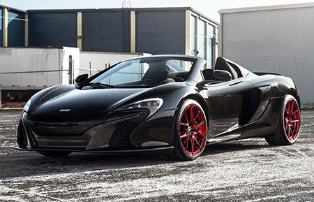 mclaren 650s forged concave wheels staggered