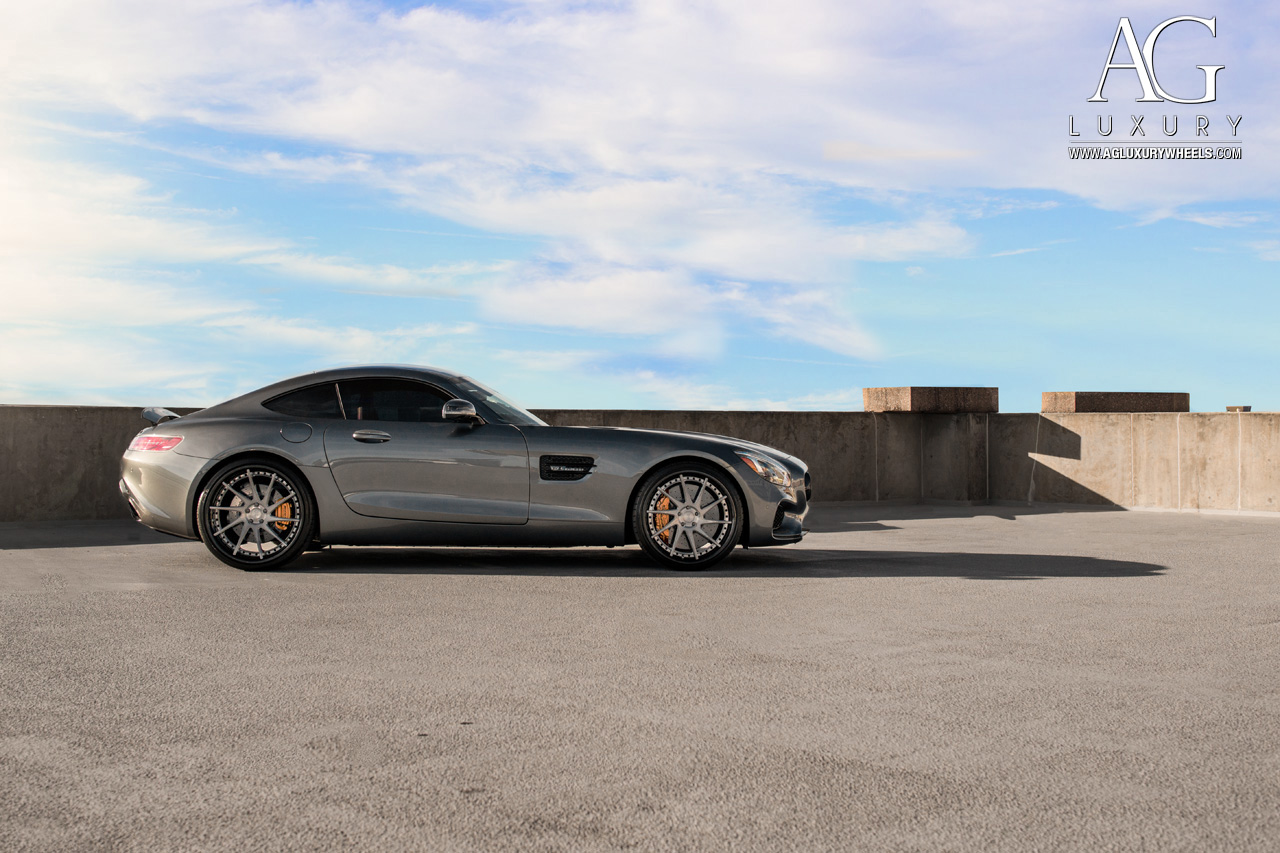 gray mercedes amg gt gts forged directional concave staggered gunmetal wheels