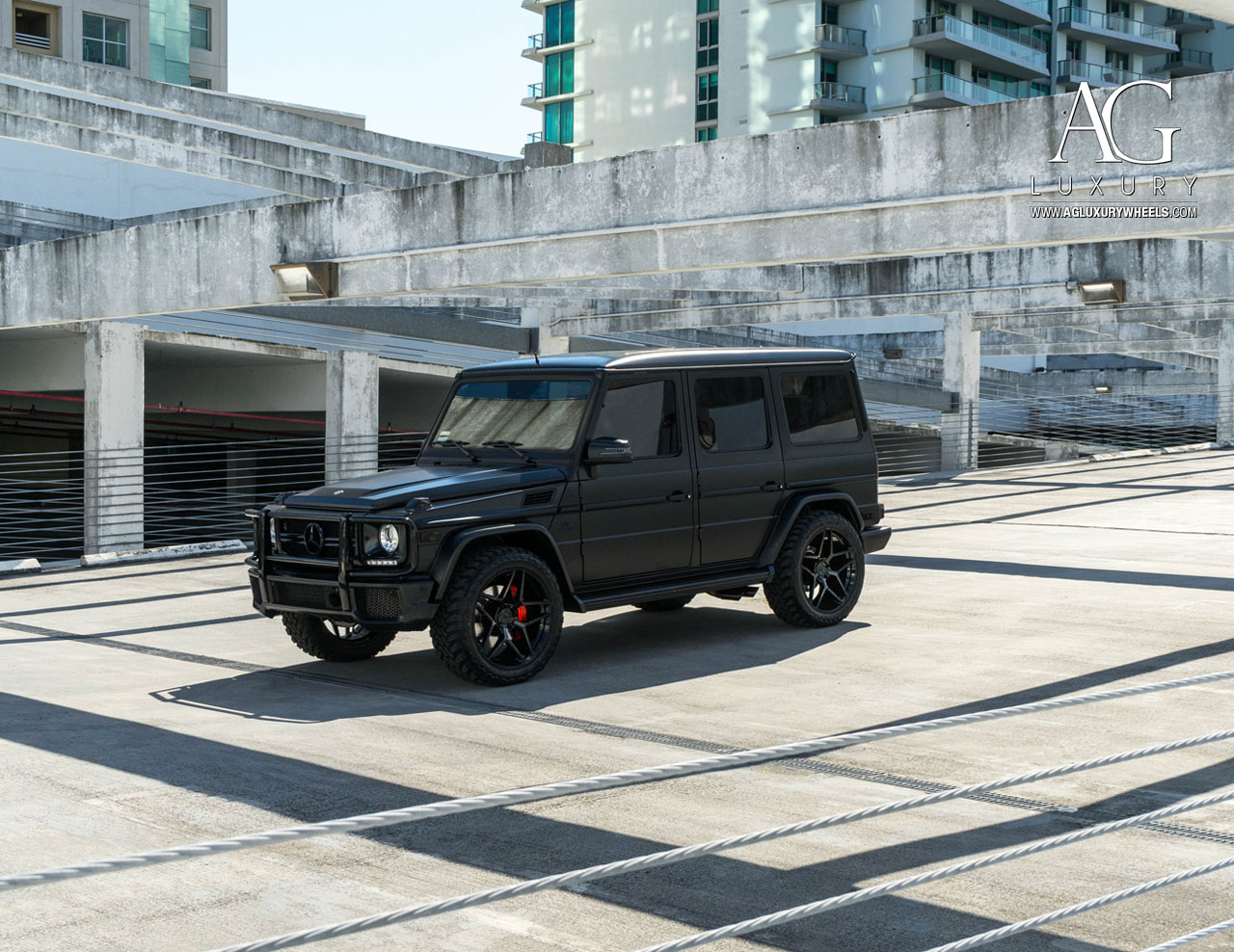Ag luxury wheels mercedes benz g63 amg forged wheels for Mercedes benz g wagon black matte