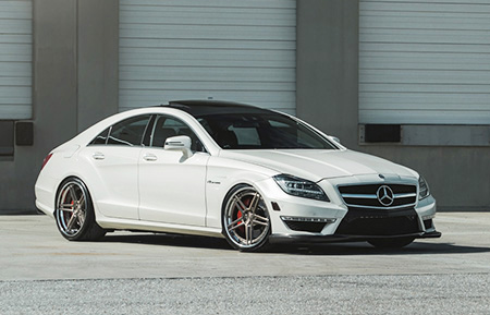 mercedes benz cls63 amg forged wheels cls staggered concave