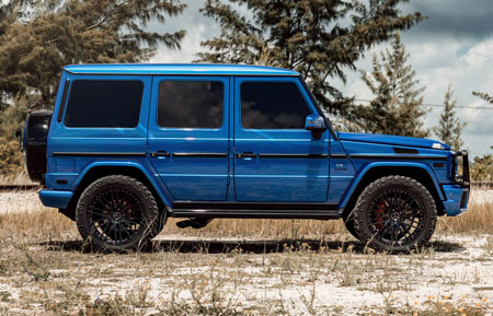 agluxury wheels agl10 spec2 gloss black duo block two piece forged custom concave bespoke rims mercedes-benz g63 amg gwagen 22in nitto tire forgiato hre vellano vossen