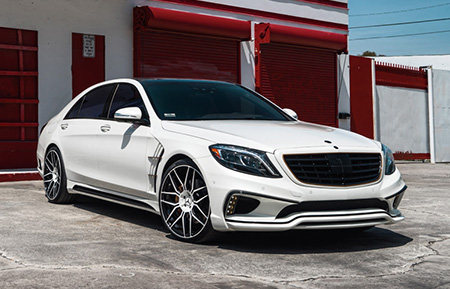 mercedes benz s550 concave forged staggered wheels amg s class