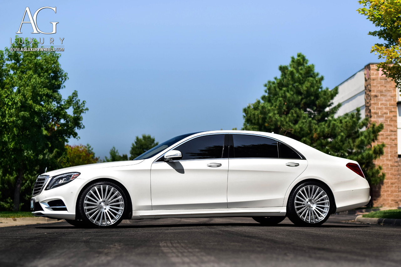 Mercedes Benz Amg >> AG Luxury Wheels - Mercedes-Benz S550 AGL25 Duo Block Forged Wheels