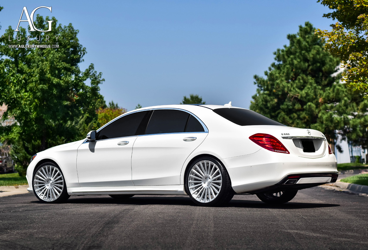 Mercedes Benz A Class >> AG Luxury Wheels - Mercedes-Benz S550 AGL25 Duo Block Forged Wheels