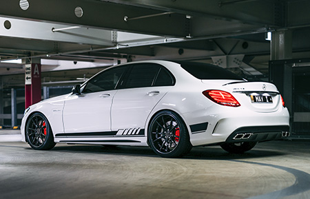mercedes benz c63 amg c class custom forged gloss black wheels agl19