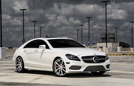 mercedes benz cls400 cls forged wheels concave staggered