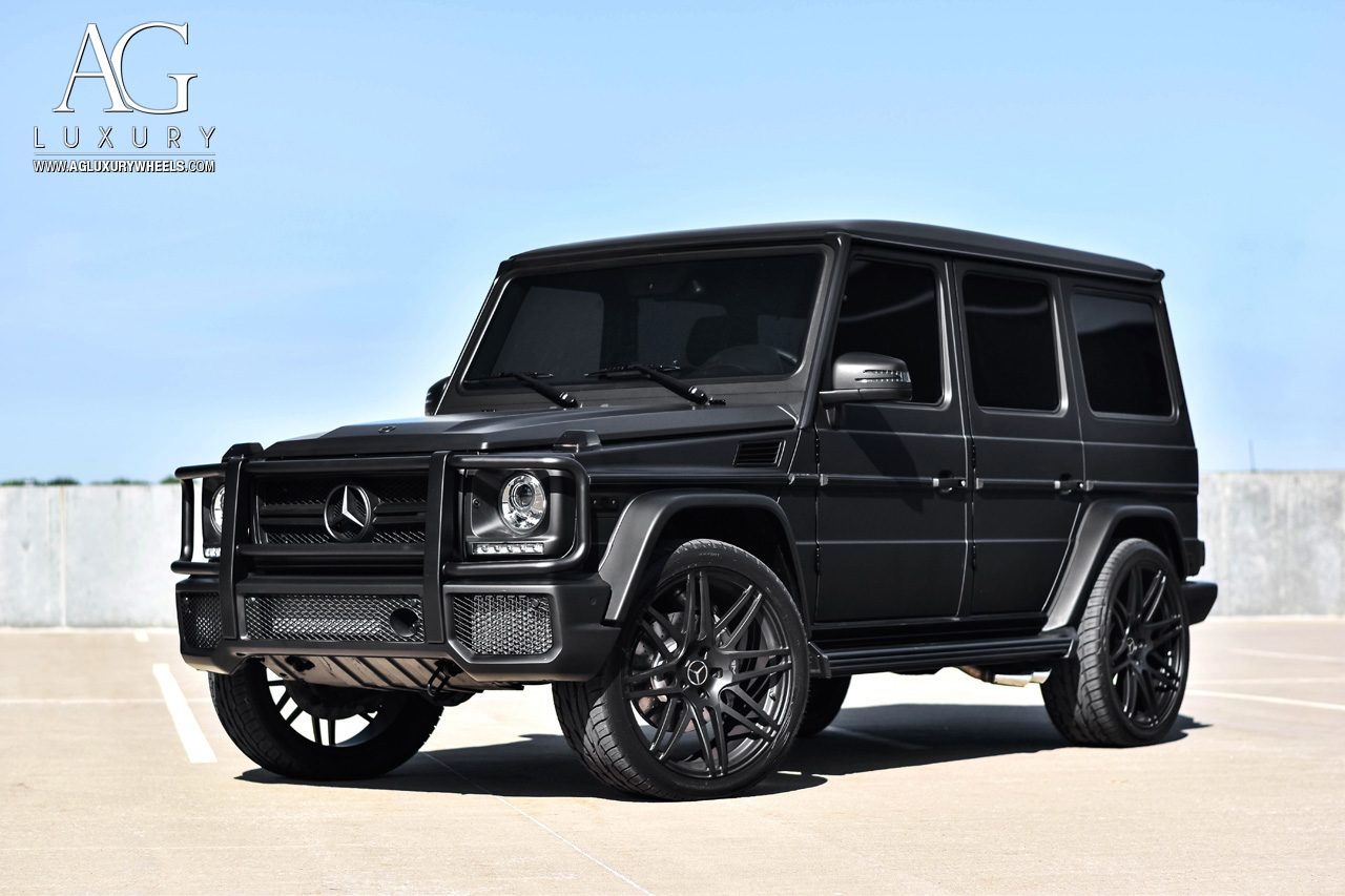 Mercedes Benz >> AG Luxury Wheels - Mercedes-Benz AMG G63 AGL44 Forged Wheels