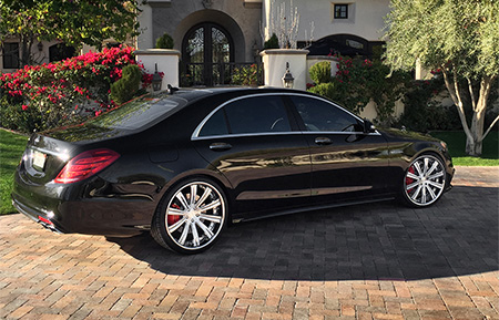 mercedes benz s63 amg forged wheels concave staggered sclass w222