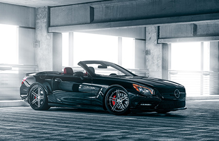 mercedes benz sl550 forged wheels staggered concave sl amg