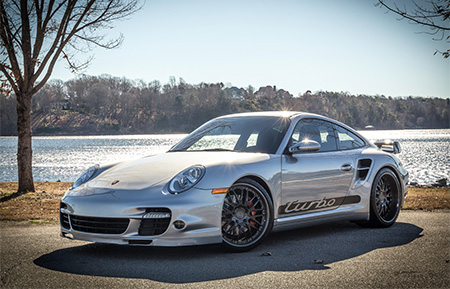 porsche 997 911 turbo forged wheels staggered