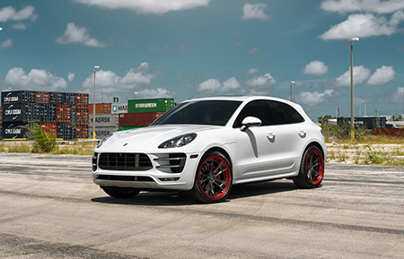 porsche macan turbo forged directional wheels